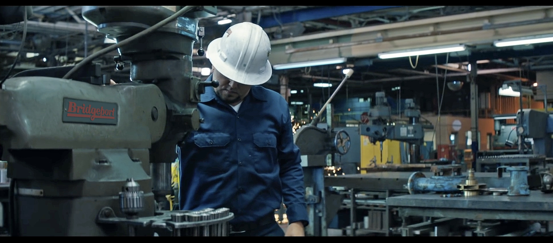 Bridgeport Knee Mill Gets Cameo in Music Video | The